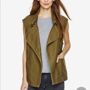 WILFRED khaki green vest size XS